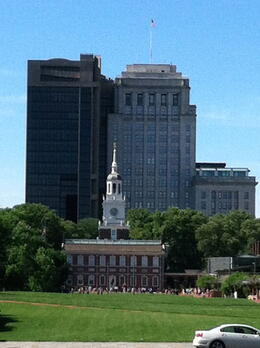 The old and the new on a picture perfect day! , Lynn M - June 2014