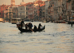 The traghetti only cross the Grand Canal at a few different points; they're easy to spot, or just ask a local. , ROD C - August 2011