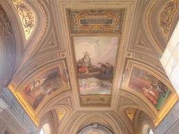 The ceiling in the picture gallery , Junior1962 - June 2012