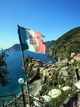 Gorgeous view of Vernazza , Fiona V - November 2014