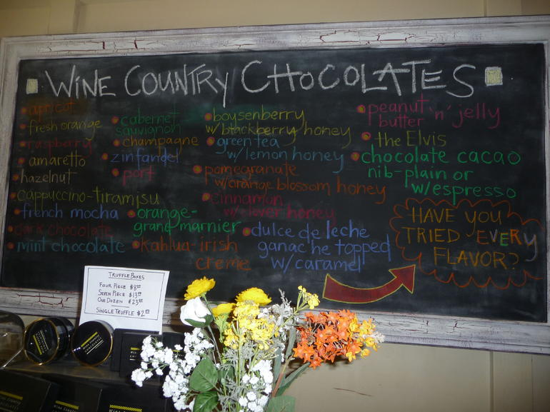 Wine Country Chocolates - San Francisco