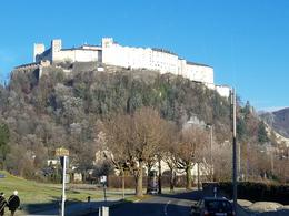The city fortress from the tour bus - lots of Salzburg sites , Randall B - December 2016