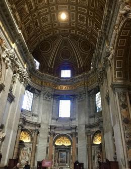 Center dome of St. Peter's Basilica. , Mar - January 2017