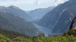 View of Doubtful Sound from Mountain Pass , Joy M - December 2017