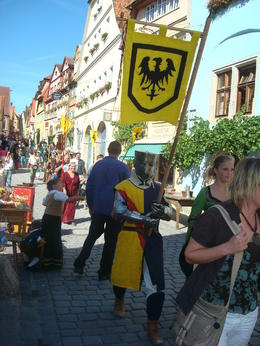 Rothenburg with all day long animation everywhere , Pierre L - September 2012