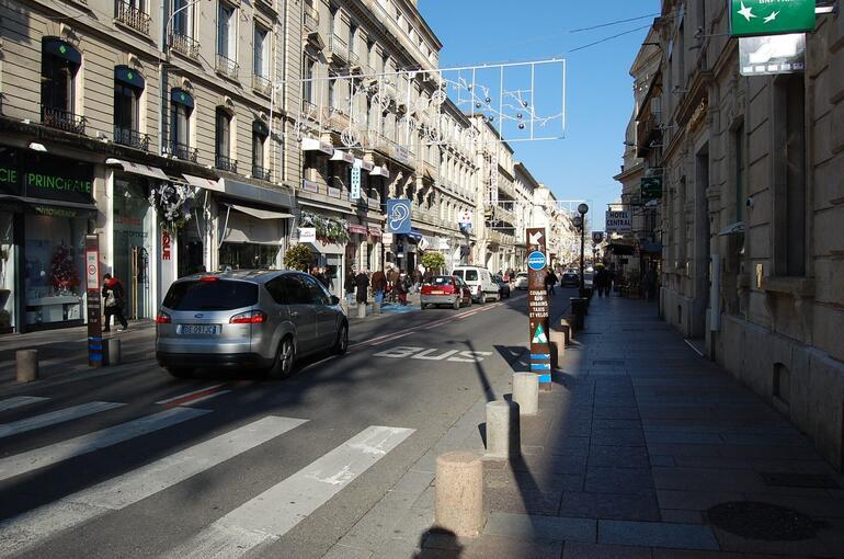 Avignon - Rue de la Republique - Avignon