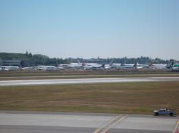 New Boeing Dreamliner 787's ready for testing prior to delivery. , James B - August 2013