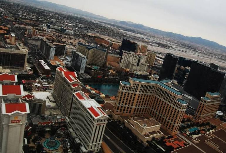 Caesar's Palace and The Bellagio - Las Vegas