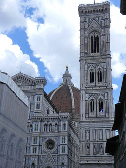 View of main church in Florence , kath4cubs - September 2015