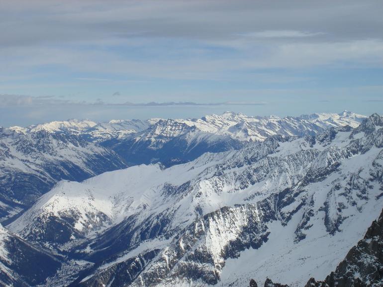From Aiguille du Midi - Geneva