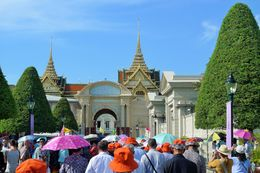Too many Chinese tourists crowding the place, shouting and making it difficult to hear the tour guide. They also used umbrellas without consideration of people who are walking beside them, they..., MAYBELLE S - May 2015
