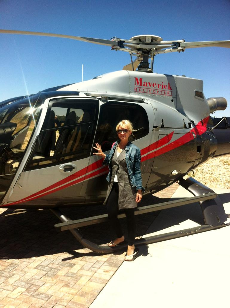 Helicopter ride - Las Vegas