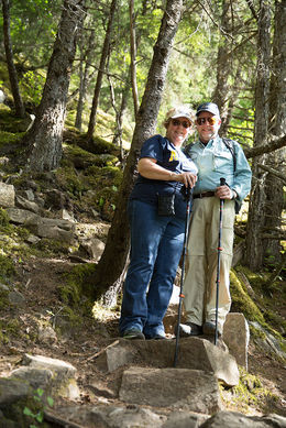 Randy and Tanya enjoying the beautiful forest , Randal H - July 2016