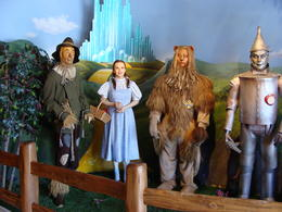 The Hollywood Wax Museum has several displays of characters from movies. One of my favorites was the Scarecrow, Dorothy, Cowardly Lion and the Tin Man from the Wizard of Oz. Many newer films are..., Patricia L - May 2011