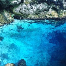 This is the blue water , Zehra K - July 2016