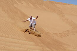 Sandboarding - for all ages! , Adrian V - October 2011