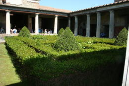 A rich Pompeiian's courtyard , tobyreagan - May 2012