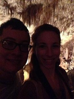 Me and me Husband on our honeymoon in the Dragon Caves , Danielle I - August 2016