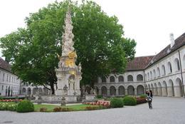 An ancient monastic courtyard (Heiligenkreuz Abbey) hidden in the Vienna Woods, Alan B - August 2010