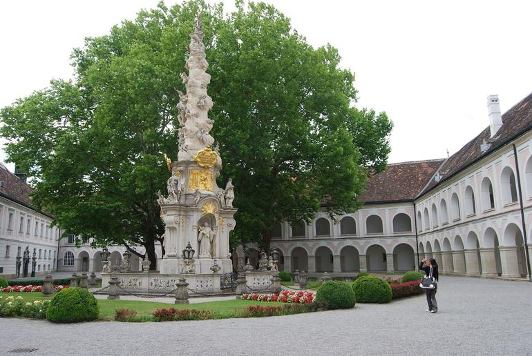Monastery Courtyard (Heiligenkreuz Abbey), Vienna Woods - Vienna