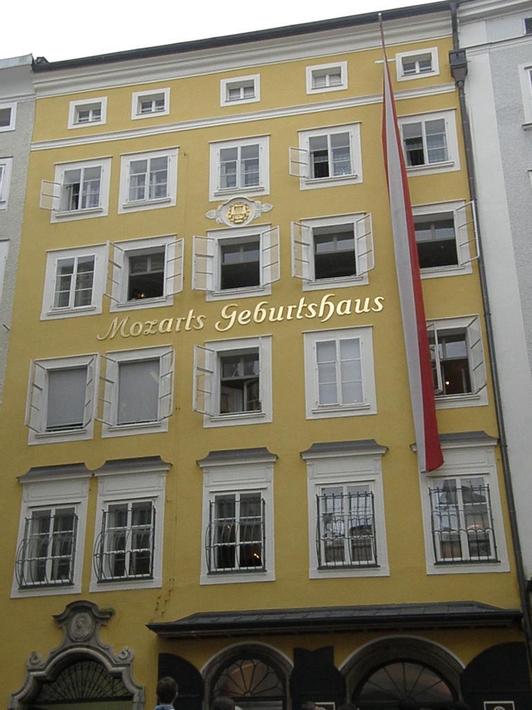 Mozart's Birth place - Salzburg