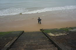 This is me, an Operation Iraqi Freedom veteran on Omaha Beach..an experience like NO OTHER!! , Gordo - May 2014