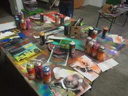 Art supplies, Rachel - November 2013