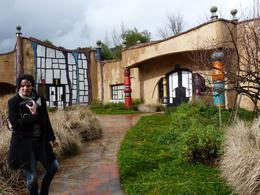 The funky Quixote winery., Kelly G - February 2010