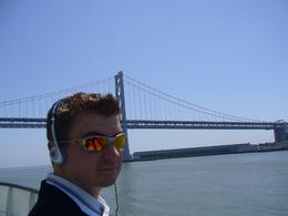 Me, learning about the history of San Francisco and the bay. - May 2008