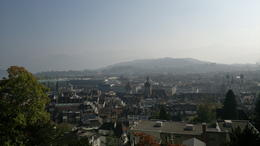 The town of Lucerne , Sara from NZ - October 2011