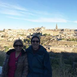 Day Trip, Panoramic view of Toledo Nov. 8, 2016 Nelson and Arnie , ROBERT NELSON B - November 2016