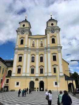 Cathedral at Mondsee , Elizabeth S - October 2017