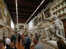 There's more than David in Galleria Accademia , La'Chelle - November 2017