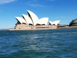 Sydney Opera House from the Hop on and off cruise , angeljeane - January 2018