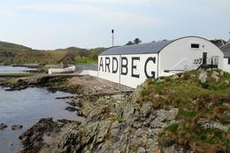 Visit at Ardbeg dist. , Jean-Paul D - May 2014