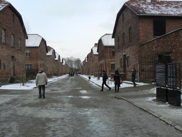 Auschwitz Feb'13 - Krakow