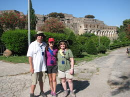 End of Pompeii tour July 2014 for Carter Family , Phillip C - July 2014
