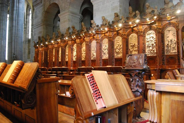 Choir seats in the monastery - Vienna