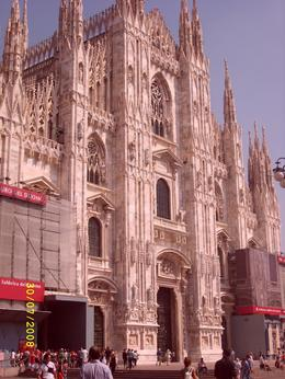 Front of Duomo., ALEX F - August 2008