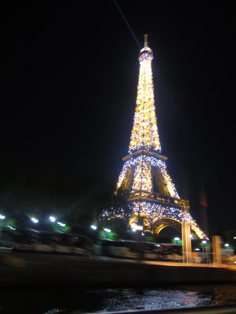 eiffel tower from the sienne - Paris
