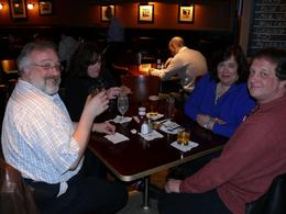 We had friends to show us around!! Had a great time. This was our first night in the hotel bar., Norman M - March 2008