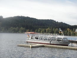 at lake titisee , Sana - October 2013