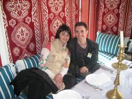 Rachel & Dmitriy lunch in Tangier., Dmitriy M - February 2008