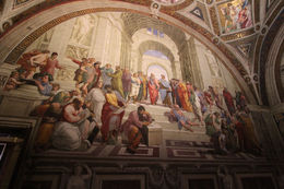 We were treated to a showing of the Pope's Chambers, where Raphael painted some of his most celebrated murals. , Joe B - December 2015