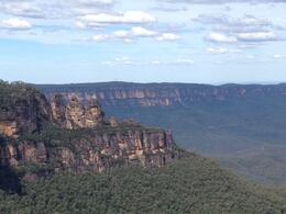 View of the Three sisters , Elodie D - March 2014