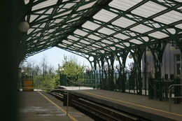 This is a photo of a train station. I was practicing what I learned with Marco. , Sharon M - May 2015