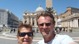 leaving the Vatican , paula k - May 2012