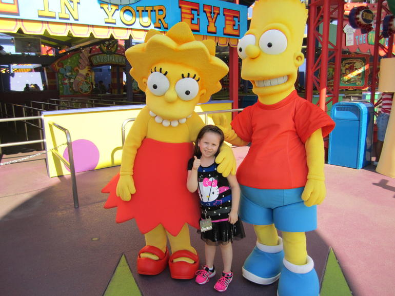 Yippe the Simpsons - Los Angeles