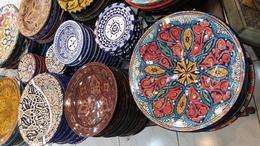 Multicoloured pottery for sale , simon-hunt - June 2017