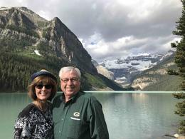 Catherine and Tim at Lake Louise , Catherine P - July 2017